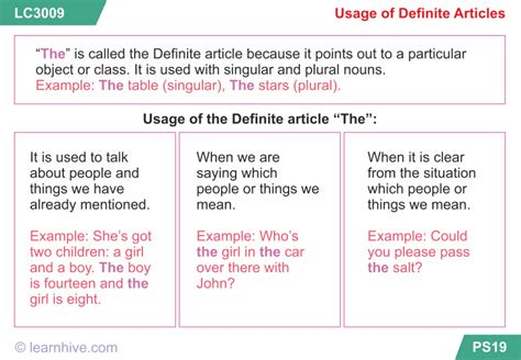Learnhive  Cbse Grade 5 English Articles  Lessons, Exercises, And Practice Tests