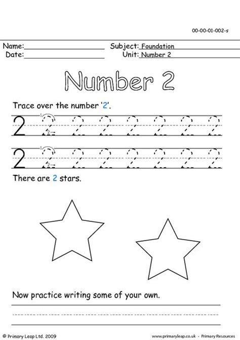 the number two primaryleap co uk