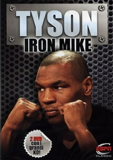 film mike tyson iron mike  dvdbooklet dvd