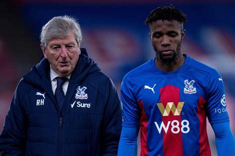 Crystal Palace: Roy Hodgson unmoved over Wilfried Zaha ...