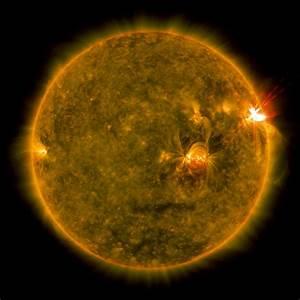 GMS: April 2017 Solar Flare Trio
