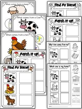 farm animal product  homes literacy center mats