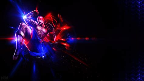Lee Sin Muay Thai Wallpaper 1920x1080 by AliceeMad on