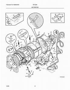 Electrolux Eifls55irr0 Parts List And Diagram
