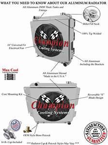 Jeep Wrangler Yj Chevy V8 Conver Radiator Shroud  U0026 Fan W