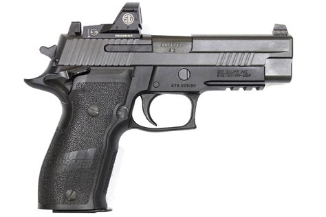 Sig Sauer P226R 9mm Elite SAO with ROMEO1 Reflex Sight ...