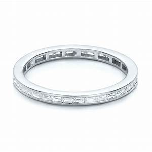 Diamond Wedding Bands Baguette Diamond Eternity Wedding Band