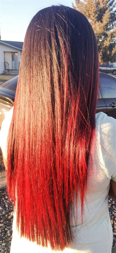 Colors To Dye Brown Hair Tips by Brown Hair With Tips Everything Hair Hair Colored