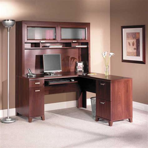 cherry black computer desk office furniture