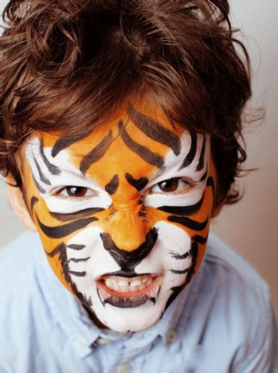 modele maquillage enfant maquillage tigre momes net