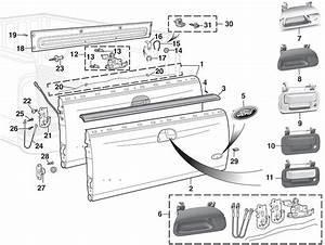 E350 Door Latch Assembly Diagram