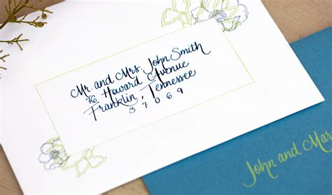 how to address an envelope to a family addressing 101 paper moss