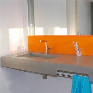 Waschtisch Aus Beton : waschtisch rampe waschtische aus beton betonm bel ~ Lizthompson.info Haus und Dekorationen