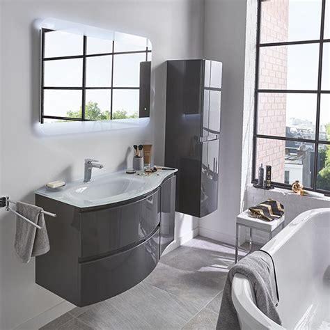 meuble de salle de bains gris 104 cm vague castorama deco salle de bains gris