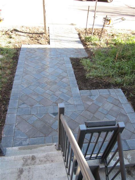 front walkway paver designs interlocking driveway pavers