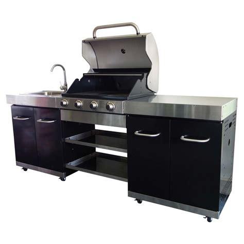 plan cuisine exterieure d ete cuisine extérieure 1 plancha 2 grilles summer ki002n