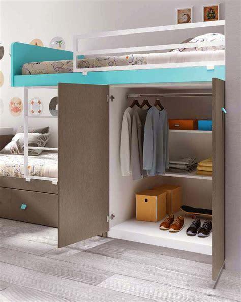 lit chambre fille lit superposé avec rangement lit gigogne glicerio so