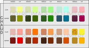 nuancier couleurs simplifie chaud votre image en lum With vert couleur chaude ou froide 1 choisir les vetements qui vous vont le mieux partie 1