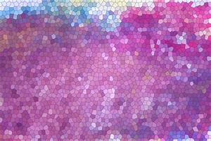 Purple And Blue Stained Glass Free Stock Photo - Public ...