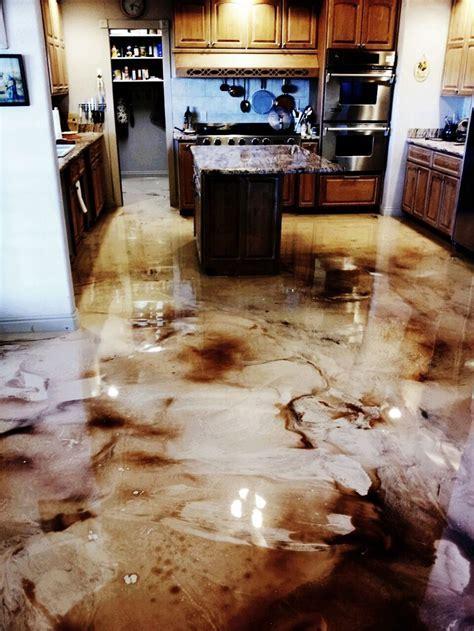 33 best Metallic Epoxy Floors images on Pinterest   Cement