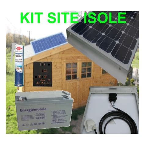 kit solaire 200 watt 12 volts site isol 233