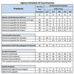 commission structure of insurance agents revealed With sales commision structure template