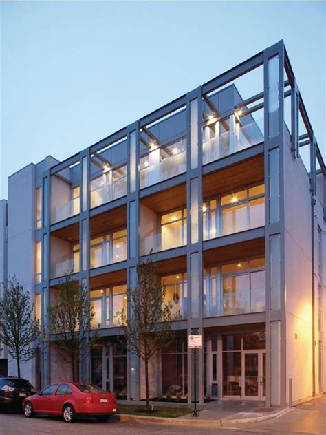 Apartment Buildings For Sale In Chicago by Modern Condo Building Architecture In Chicago