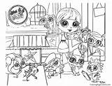 Coloring Littlest Pet Printable Lps Coloringpagecentral Dog Everfreecoloring Blythe Dash Rainbow Farm Lego Wars Toys Much sketch template