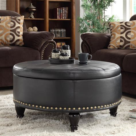 round ottoman coffee table living room round ottoman coffee table ideas