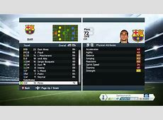 FIFA 14 FC BARCELONA PLAYER STATS YouTube