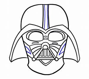 How To Draw Darth Vader In A Few Easy Steps Easy Drawing