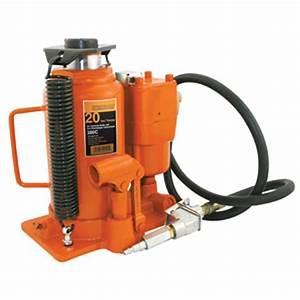 Strongarm 030157 20 Ton Air Hydraulic Bottle Jack