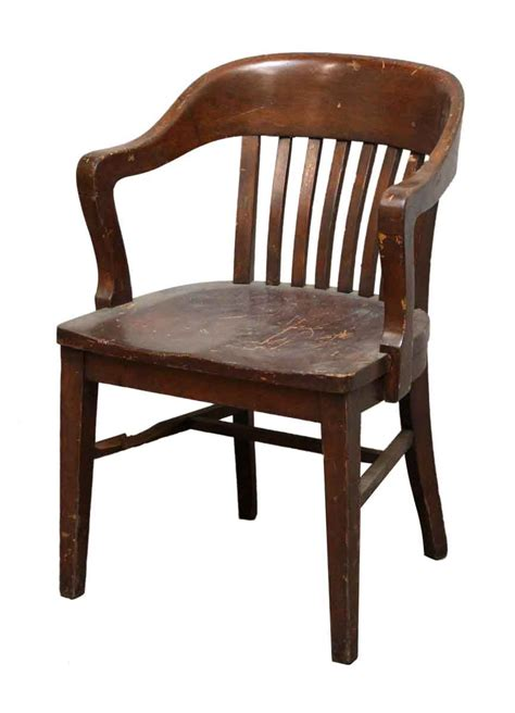 Antique Bankers Chair  Olde Good Things