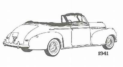 Coloring Classic Pages Chevrolet Early 1941