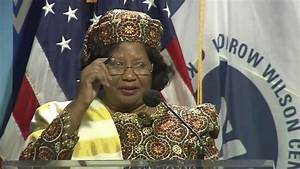 Advancing Women Leaders in Africa: Dr. Joyce Banda, Former ...