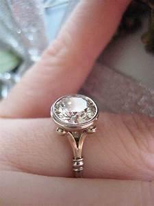 engagement rings bezel setting styles pricescope With bezel set engagement ring with wedding band