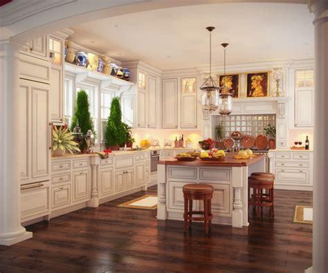 beautiful kitchens designs 2014 klasik mutfak dolabı modelleri 1560