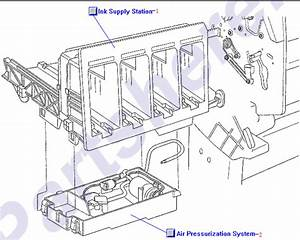 C6074-60386 Hp Ink Supply Station  Iss