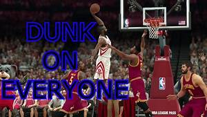 Nba 2k17 Tips How To Dunk On People And Draw Fouls Youtube