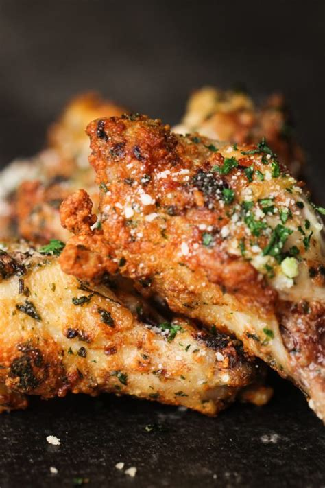 fryer chicken wings air recipes garlic parmesan recipe sisters wing fried six stuff nuwave fry xl cooking food airfryer follow