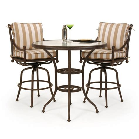 pub table with four chairs furniture delightful patio bar height table and chairs 5