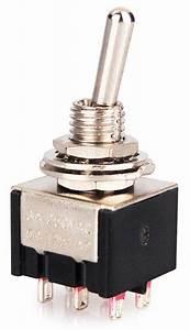 Schalter 4 Polig : miniatur kippschalter schalter 2 polig 6 kontakte ebay ~ Frokenaadalensverden.com Haus und Dekorationen
