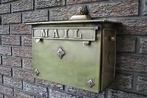 Boite Aux Lettres Vintage : bo te aux lettres originale de la cr ativit et du diy ~ Teatrodelosmanantiales.com Idées de Décoration