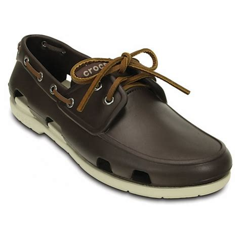 Crocs Boat Shoes by Crocs Line Mens Boat Shoes All Sizes In Various