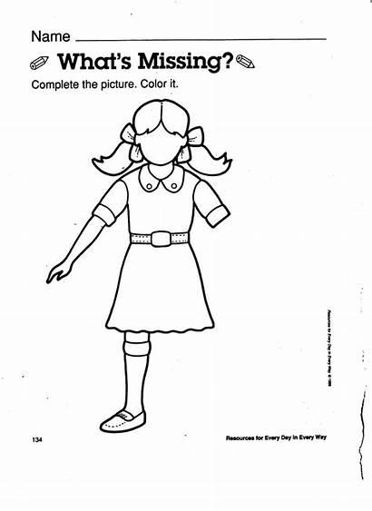 Worksheet Parts Missing Worksheets Awareness Nursery Curriculum