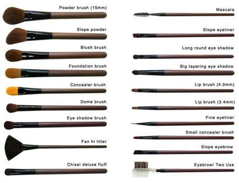 different types of makeup brushes and their uses contouring mac makeup brushes set makeup