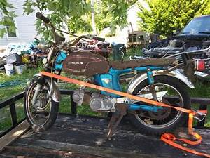 1972 Honda Cl70 Small Street Bike For Parts  Restoration W