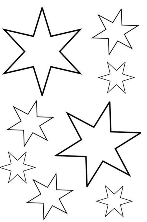 vorlagen sterne sterne malvorlagen zum ausdrucken