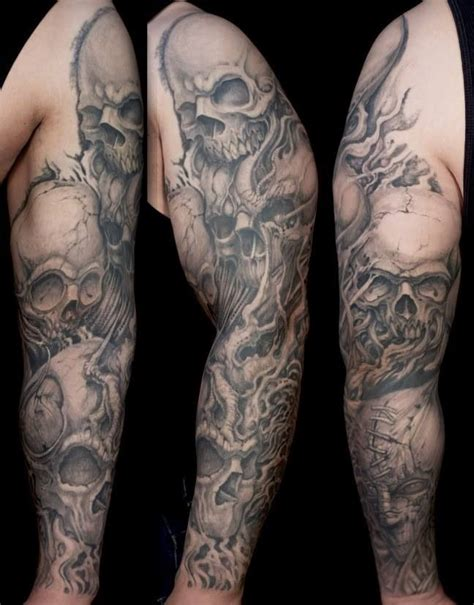 sleeve vorlagen skulls sleeve food stuff