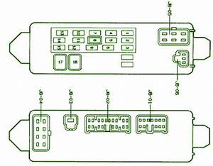 2005 Mazda Protege 5 Under Dash Fuse Box Diagram  U2013 Auto